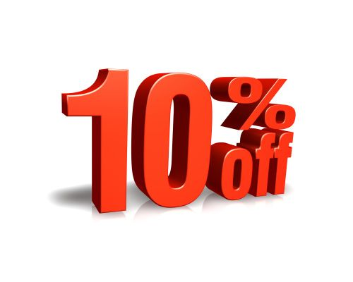 10% off servicing for rental customers