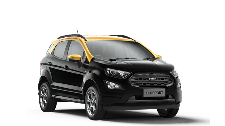 Ford EcoSport ST-Line Black with Luxe Yellow Roof