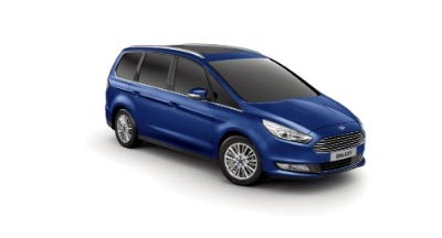 Ford Galaxy - Available In Impact Blue