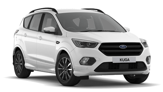 Ford Kuga - Frozen White