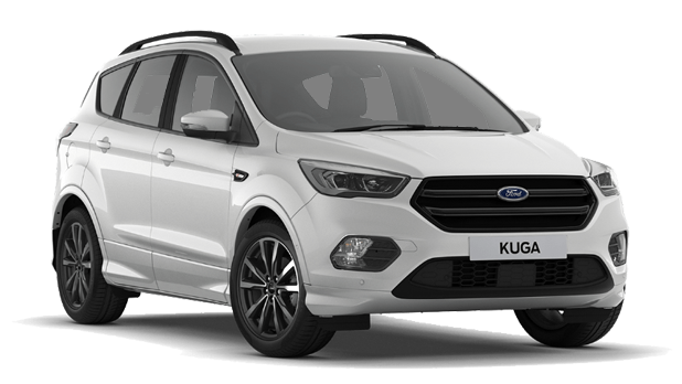 Ford Kuga - Platinum White