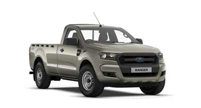 Ford Ranger - Available In Oyster Silver