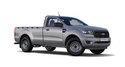 Ford New Ranger - Available In Moondust Silver